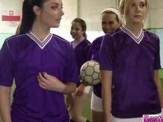 Jugadoras de futbol lesbianas